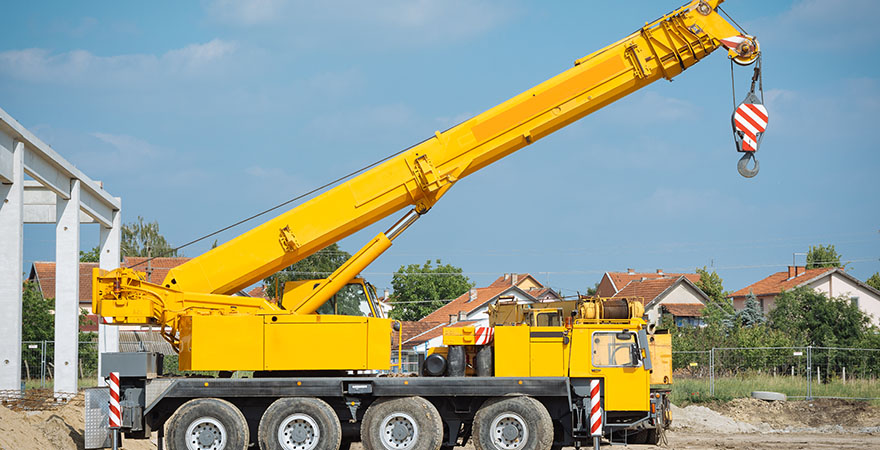 Company that Offers Crane Rentals